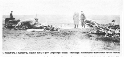 Longchamps Crash
